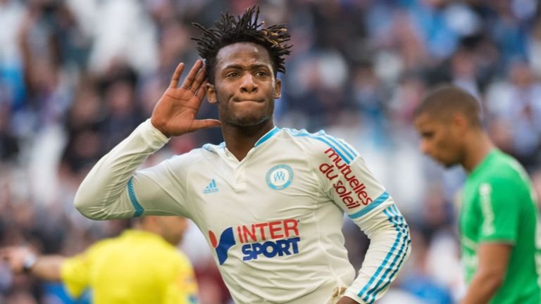 Michy Batshuayi is a target for a host of clubs across Europe this summer