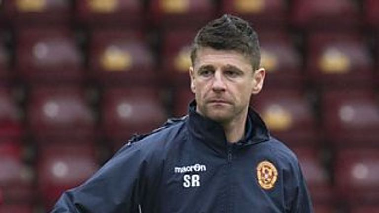Stephen Robinson has been appointed at Motherwell manager
