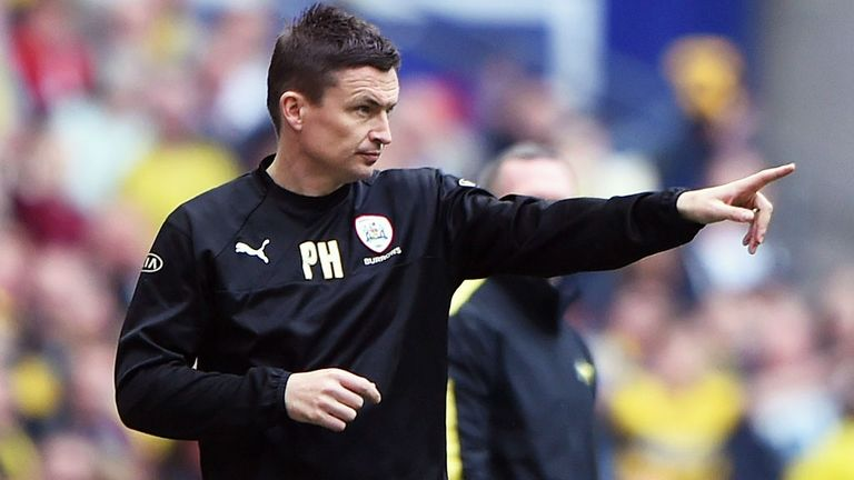 Barnsley manager Paul Heckingbottom has been nominated for the Manager of the Month award