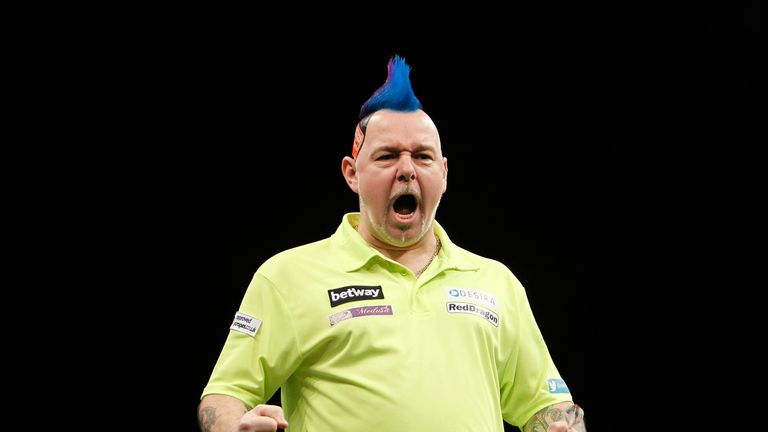 Peter Wright is into the Perth semis