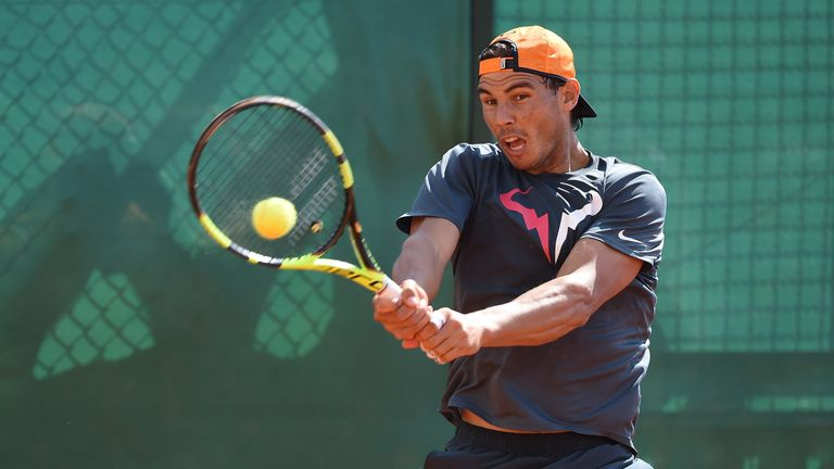 Nadal will be seeking a 10th title at the French Open