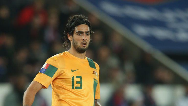 Rhys Williams has made 14 appearances for Australia