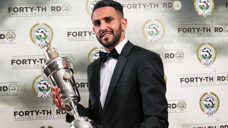 Riyad Mahrez: PFA player of the year