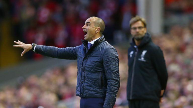 "Roberto Martinez called Everton's derby performance ""horrible"""