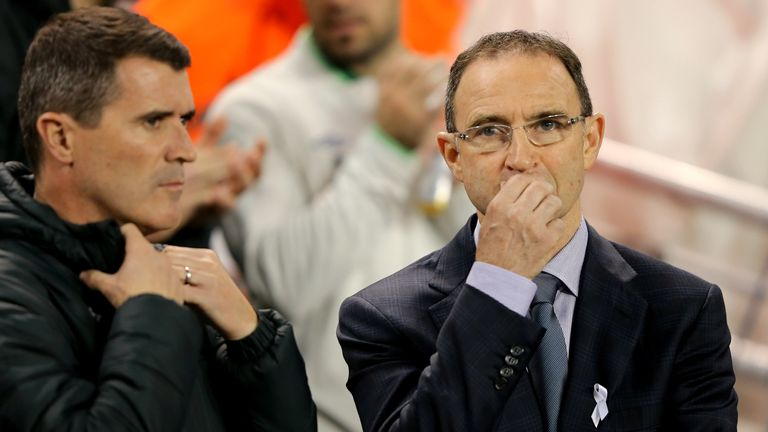 Martin O'Neill and assistant Roy Keane will lead the republic of Ireland to Euro 2016 this summer