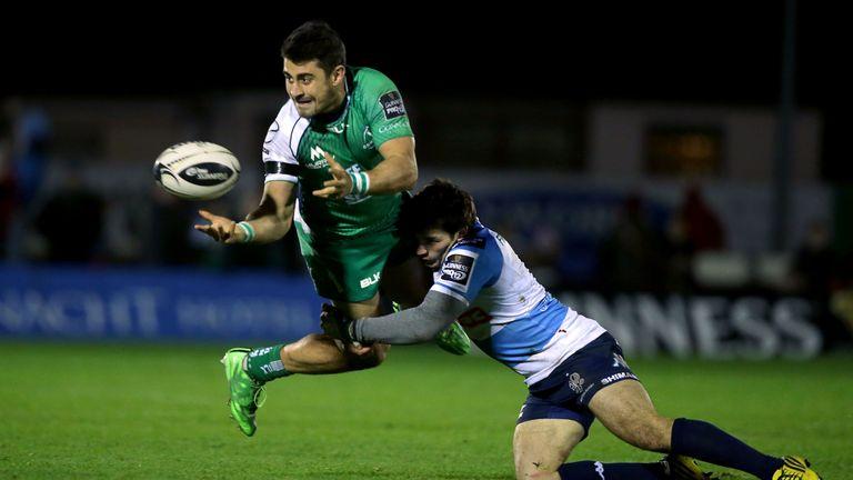 Tiernan O'Halloran returns for Connacht against Treviso