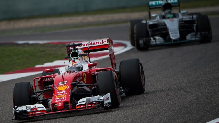 Ferrari are really pushing Mercedes at Chinese GP, says Toto Wolff
