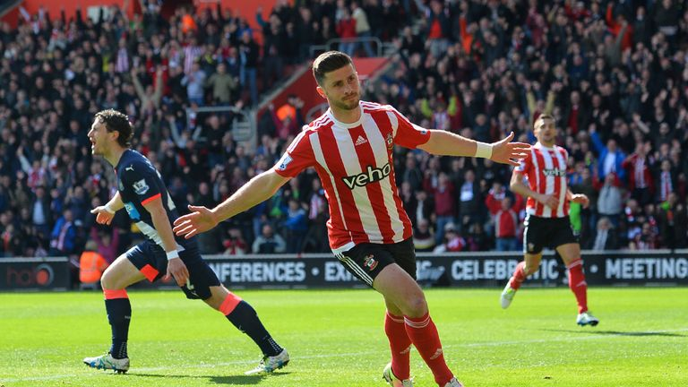 Shane Long took his Premier League goals tally into double figures