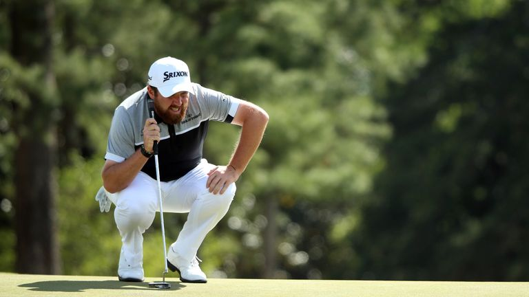 Lowry's amazing burst lifted him to seven under par - two behind Jason Day