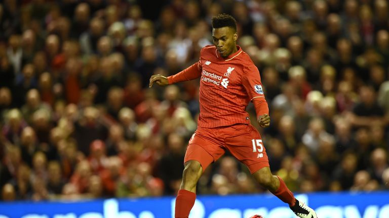 Sub Sturridge slots his 50th goal for Liverpool