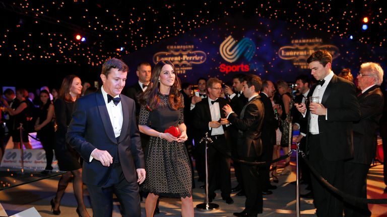 HRH The Duchess of Cambridge is patron of SportsAid