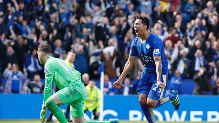 Ulloa has scored 20 goals for Leicester since signing from Brighton in 2014