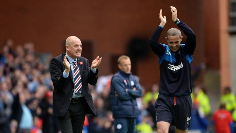 Rangers appointed former Brentford management team Mark Warburton and David Weir at the start of the 2015/16 campaign.