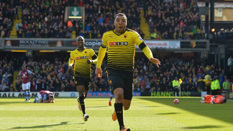 Troy Deeney won it for Watford with two late goals