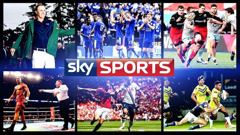 Sky Sports weekend menu 6.4.16