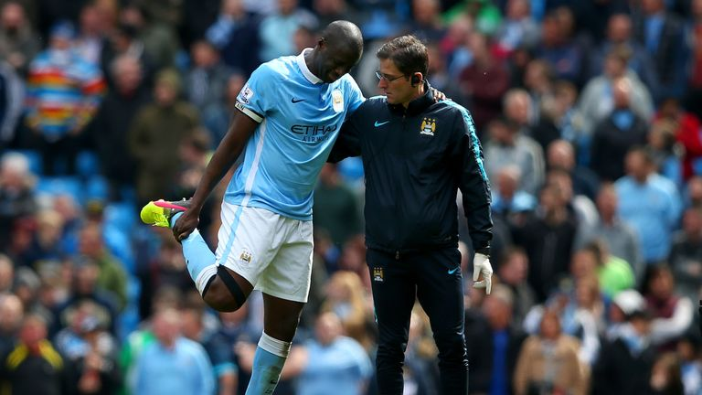 Yaya Toure could be fit for the midweek showdown with Real Madrid