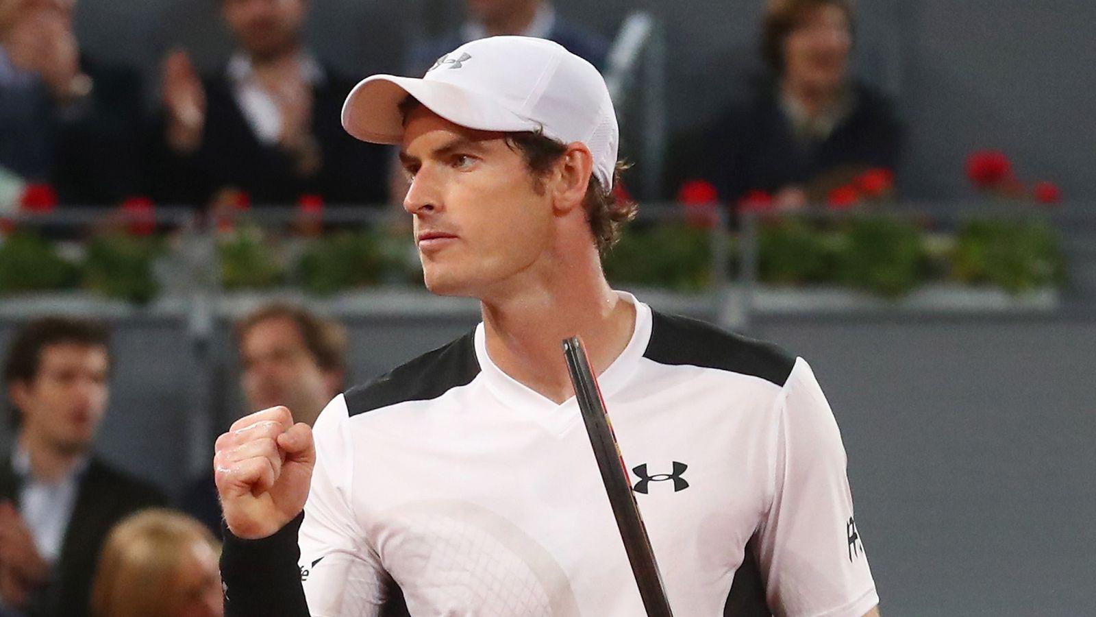 Andy Murray gana el partido inaugural en el Madrid Open virtual | Noticias de tenis 8