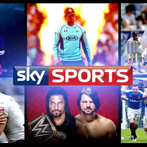 Sky Sports channel changes