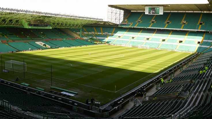 A general image of Celtic Park in Glasgow