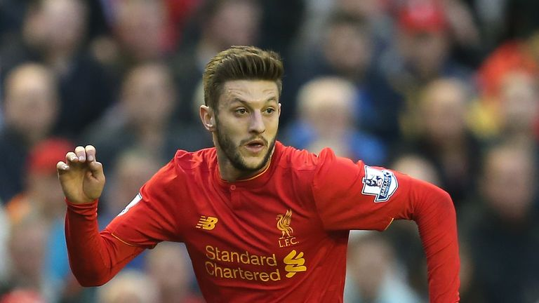Euro 2016 will be Lallana's first appearance at a European Championships