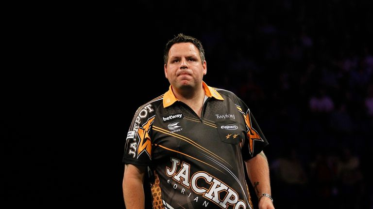 Adrian Lewis is seeking a first Matchplay crown