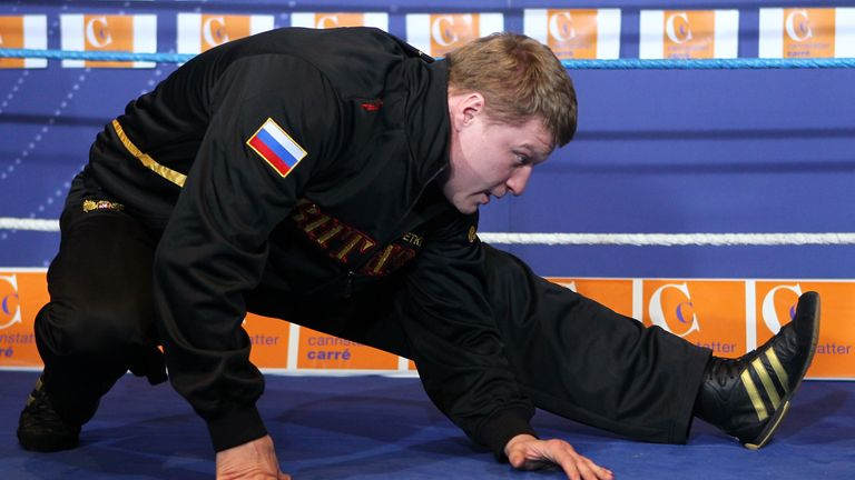 Povetkin has also claimed an Olympic gold medal for his country