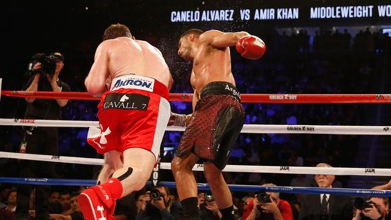 Amir Khan v Saul Alvarez