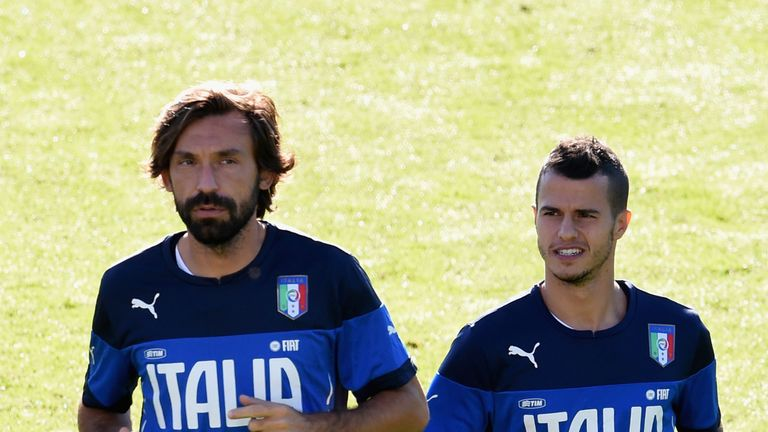 Both Pirlo and Sebastian Giovinco have been left out of the Italy squad for Euro 2016