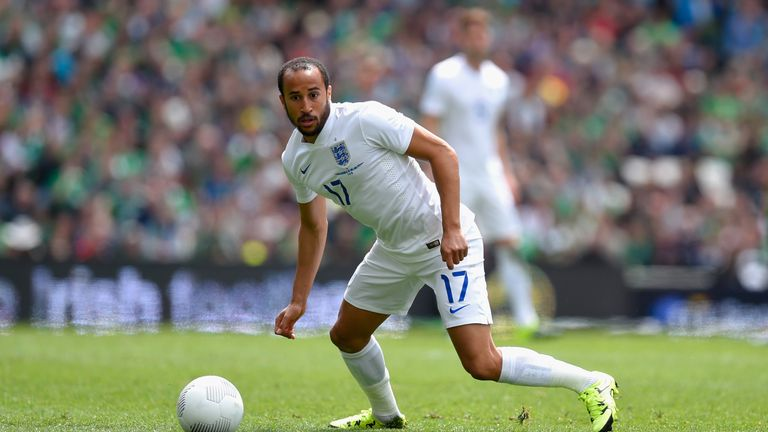 Andros Townsend hopes to be a part of England's Euro 2016 squad