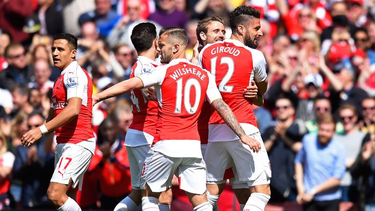 Arsenal earned more than £100m last season for the first time