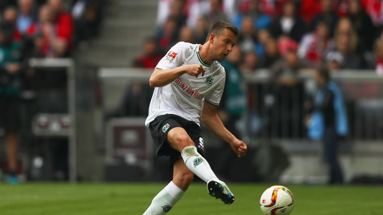 Hannover 96's Artur Sobiech is one of the omissions from Poland's 23-man squad