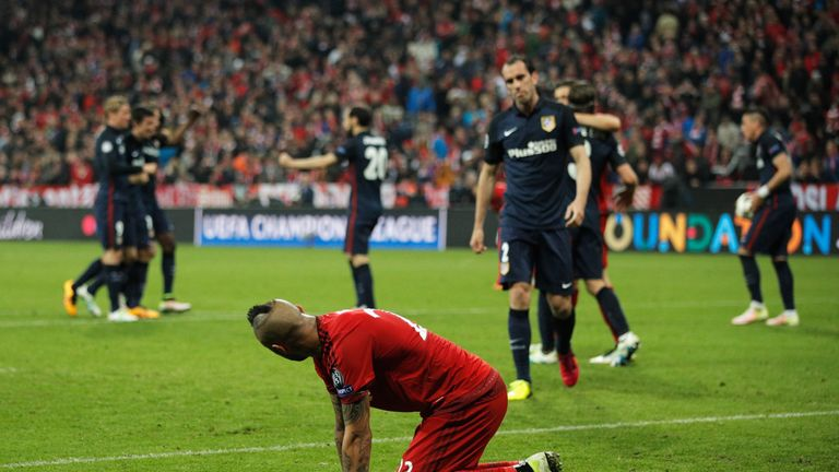 Defeat to Atletico Madrid denied Guardiola's Bayern a place in the Champions League final