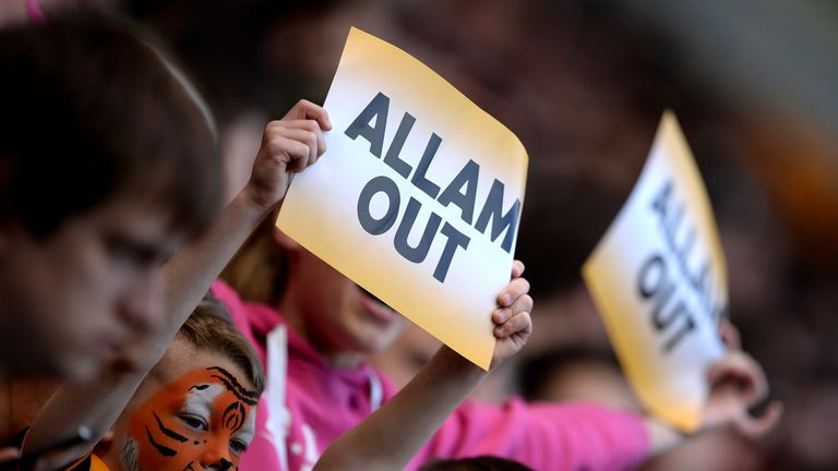 Fans previously protested against a proposed name change to Hull Tigers