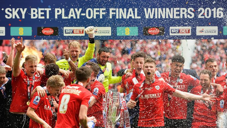 The ecstacy and heartbreak of the play-offs will once again be shown live on Sky Sports