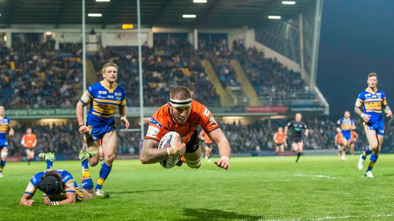 Leeds were thrashed by Castleford in the latest round of Super League
