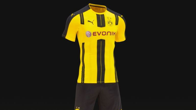 6a3e3ee1a Puma has revealed Borussia Dortmund s home kit for the 2016 17 season