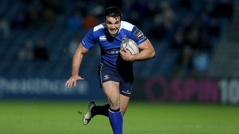 Cian Kelleher has made seven appearances for Leinster