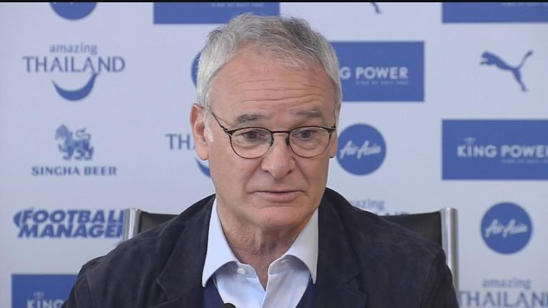 Claudio Ranieri says the whole world is curious to see how Leicester perform