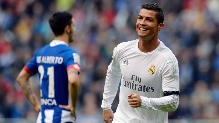 Ronaldo wasn't able to win La Liga in his first season with Real