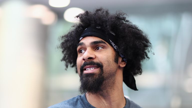 Lennox Lewis has questioned David Haye's new-look physique