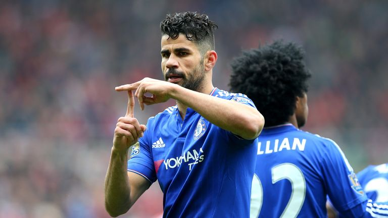 Diego Costa is not expected to feature against Real Madrid on Saturday