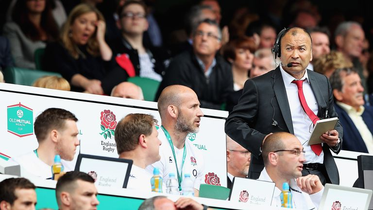 Eddie Jones remains unbeaten since taking over as England coach