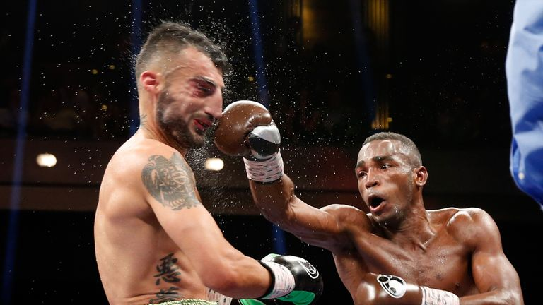 Erislandy Lara (R) may be the leading light of the division