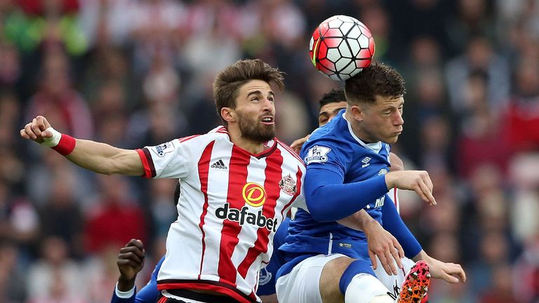 Sunderland's Fabio Borini (left) is in with a chance of going to Euro 2016