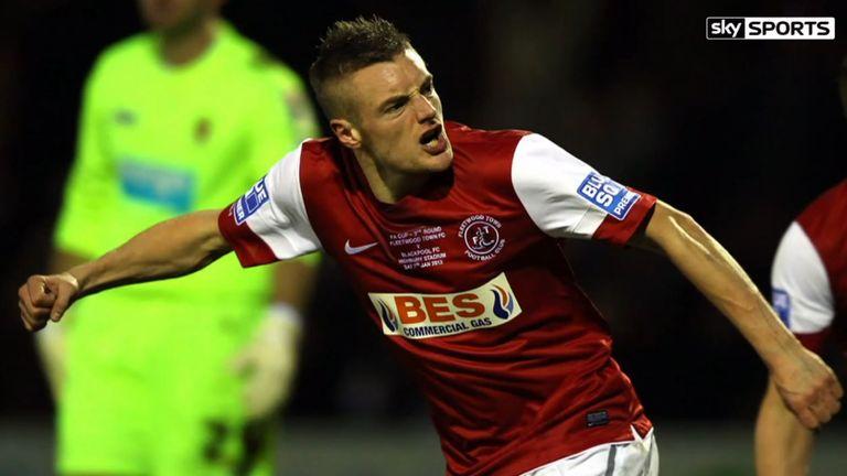 Jamie Vardy will face former club Fleetwood