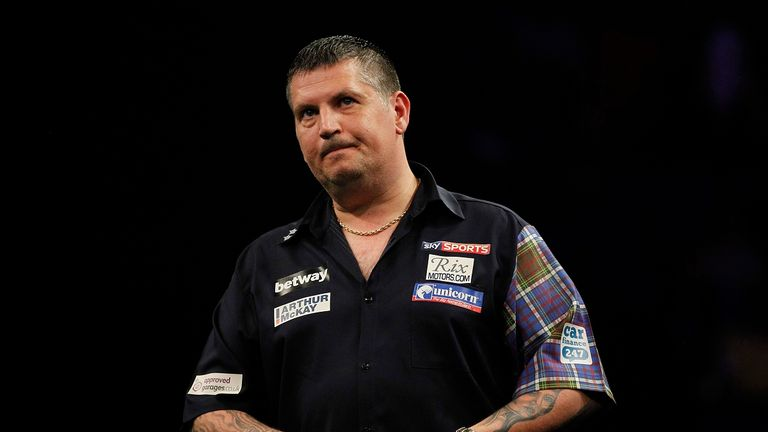Defending Premier League champion Gary Anderson was beaten at The O2