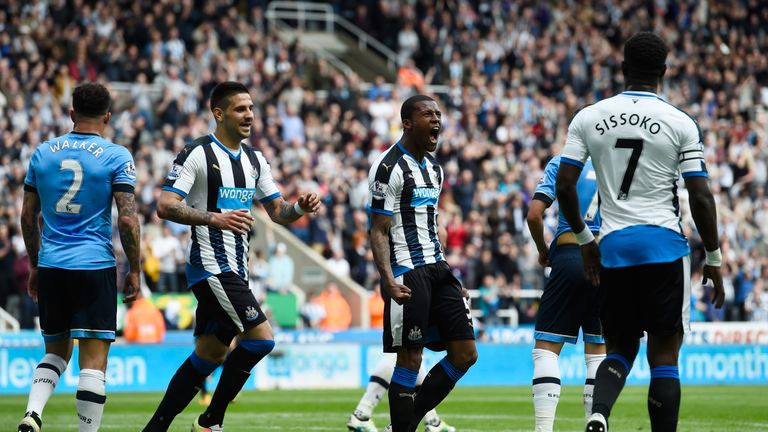 Newcastle 5 1 Tottenham Relegated Newcastle Romp To Leave Spurs Behind Arsenal Football News Sky Sports