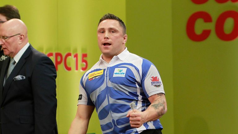 Gerwyn Price won his first professional prize