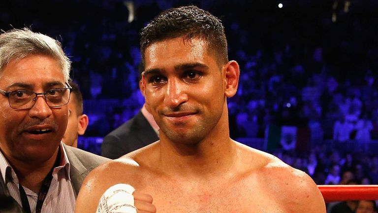 Amir Khan told Dubai press he will fight Brook one day