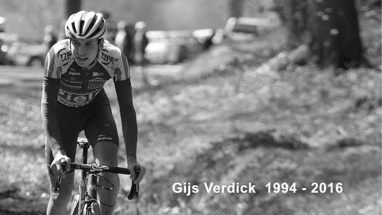 Gijs Verdick died on Monday (Picture: Cyclingteam Jo Piels)